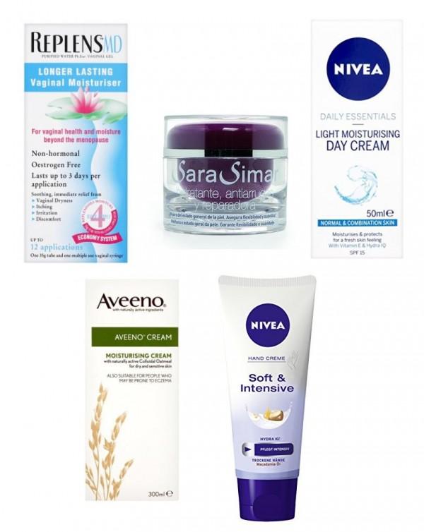 Descubre el TOP 5 de las cremas hidratantes para la piel