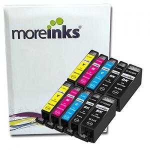 10 Moreinks cartuchos de tinta de impresora compatible