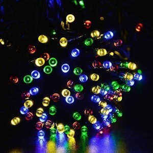 Signstek 200 LED RGB Solar Powered String Fairy
