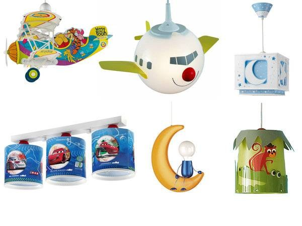 lámparas infantiles para decorar