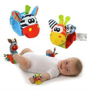 Time4Deals® 4pcs lindo bebé infantil animales los niños