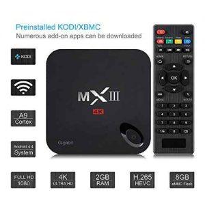 Quad Core TV box Android 5 1 de VicTsing
