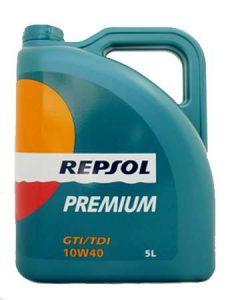 Premium GTI-TDI 10w40- Repsol