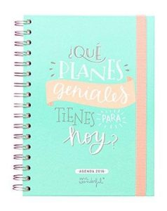 Mr. Wonderful WOA02955 - Agenda anual