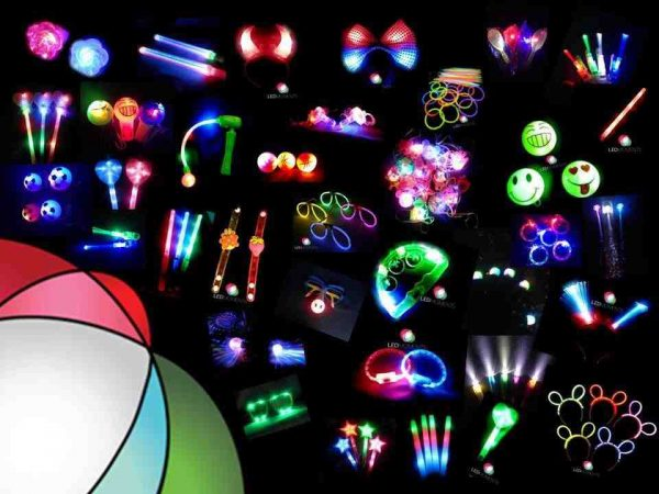 productos luminosos para fiestas