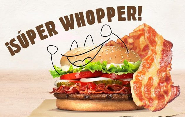 hamburguesas Burger King