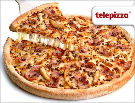 las mejores pizzas son las de telepizza