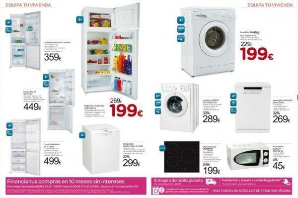 catalogo electrodomésticos Carrefour