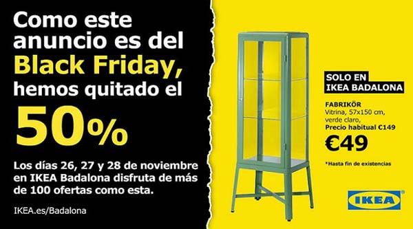El Black Friday de IKEA