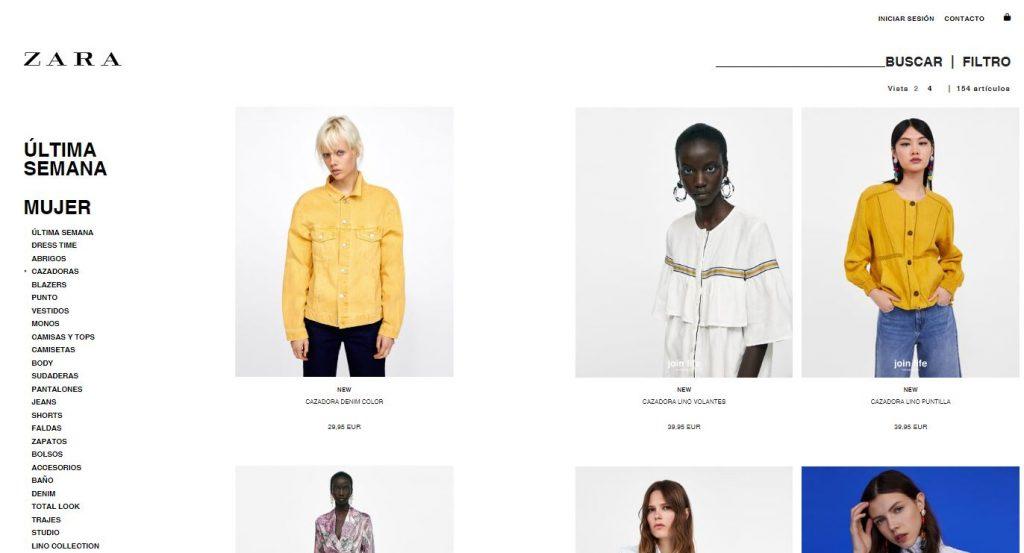la mejor ropa y accesorios de Zara Online