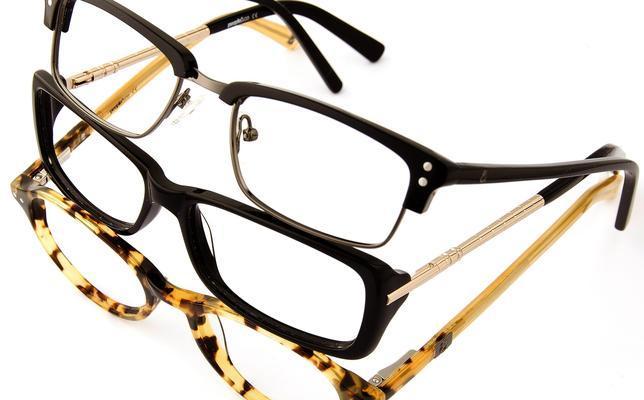 gafas con diferentes monturas