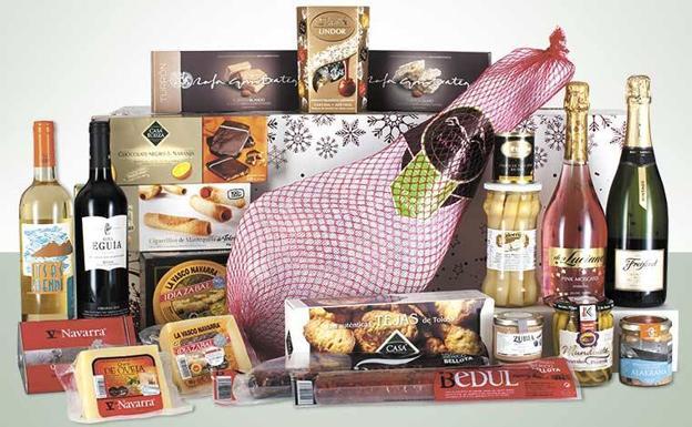 cestas de navidad con jamón incluido