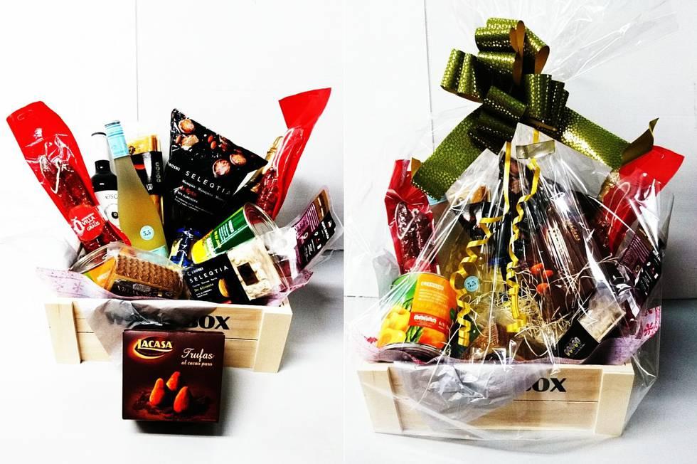 regalar cestas de navidad
