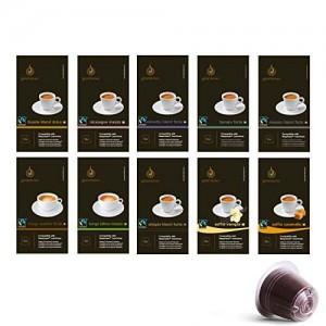 Gourmesso caja degustación - 100 cápsulas de café