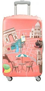 LOQI - URBAN - Paris Suitcase Cover by Melissa Mackie