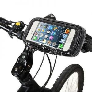 Soporte bicicleta impermeable para smartphone