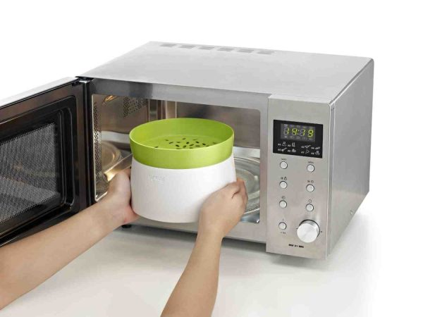 cocinar de forma sana con la ayuda del microondas