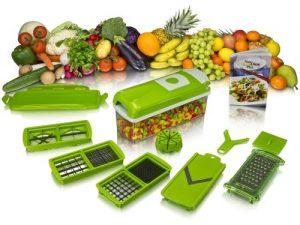 Genius Nicer Dicer Plus - Juego de utensilios de cocina
