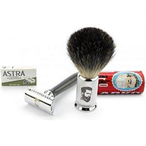 Máquina de afeitar y cepillo- Rusty Bob