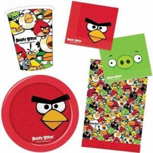 Set de Fiesta Angry Birds