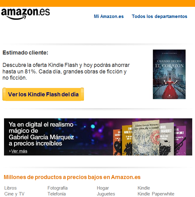ebooks en ofertas en Kindle flash