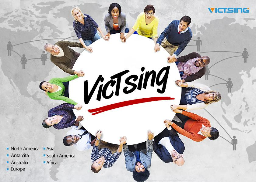 VicTsing en todo el mundo