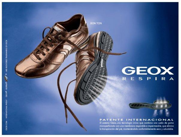calzado Geox transpirable