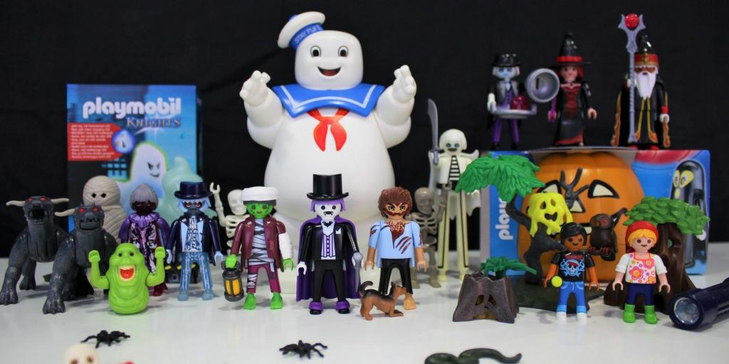 Los clicks de Playmobil celebran Halloween