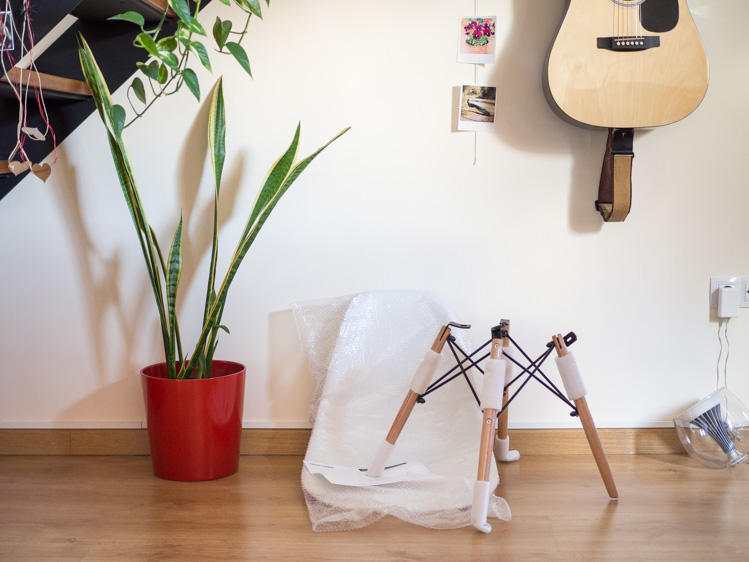sillas Eames de colores
