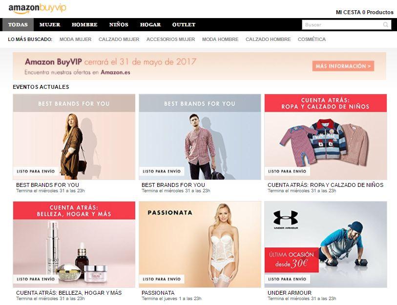 BuyVip, tienda privada de amazon