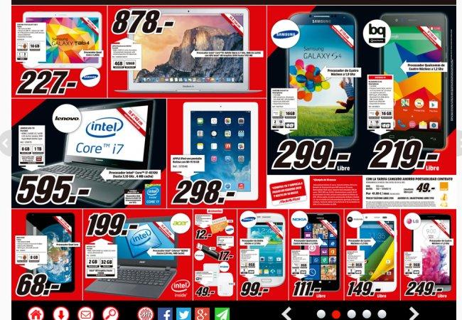 Códigos promocionales Media Markt