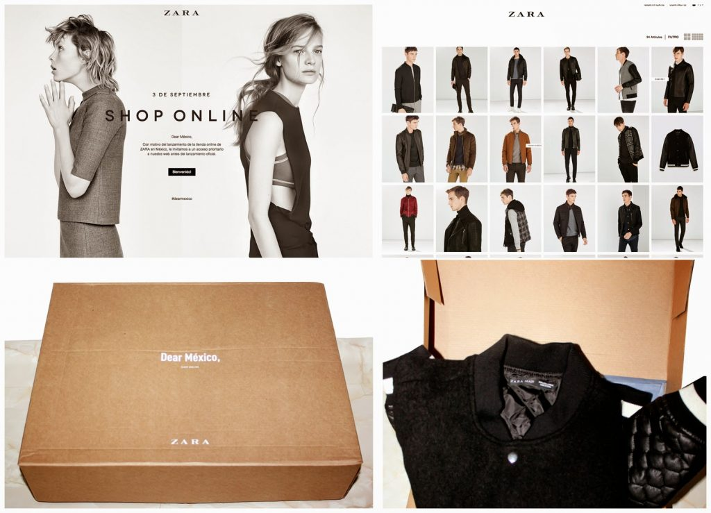Zara Online Store