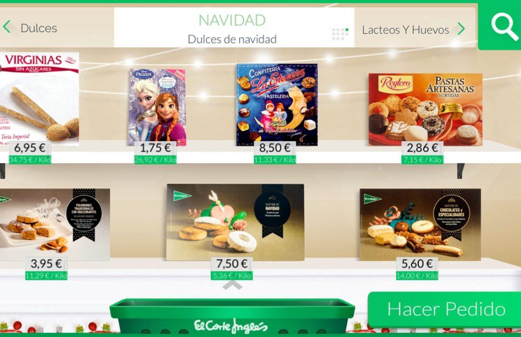 Supermercado online del Corte Ingles