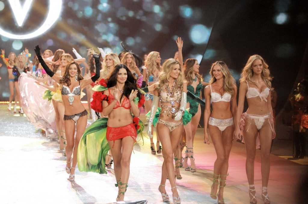 Los famosos Ángeles de Victoria's Secret