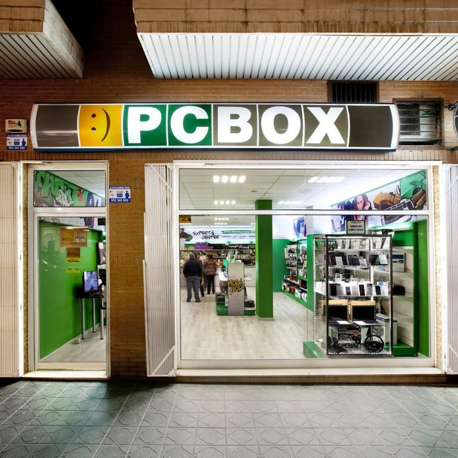 PCBOX es una cadena de tiendas dedicadas a la informática