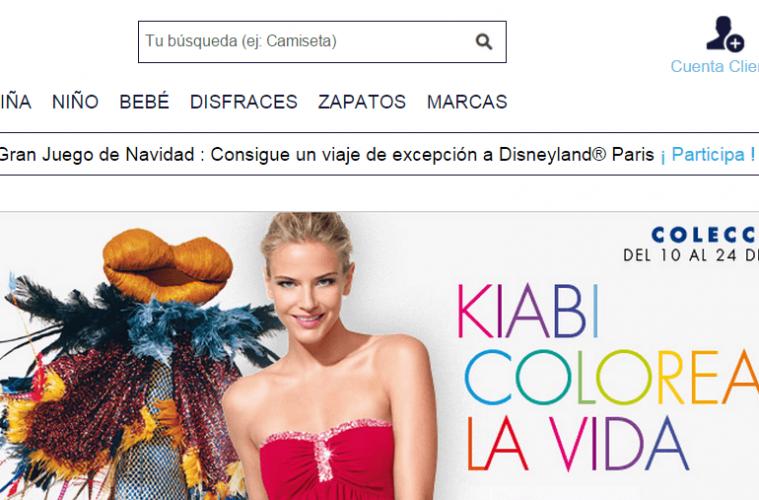 tienda online kiabi
