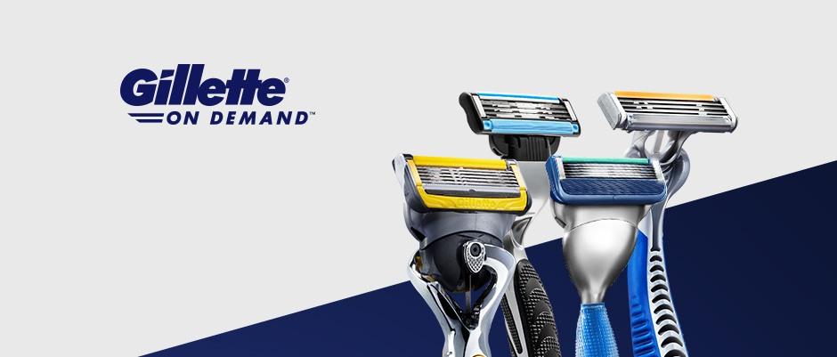 Productos fabricados por Gillette