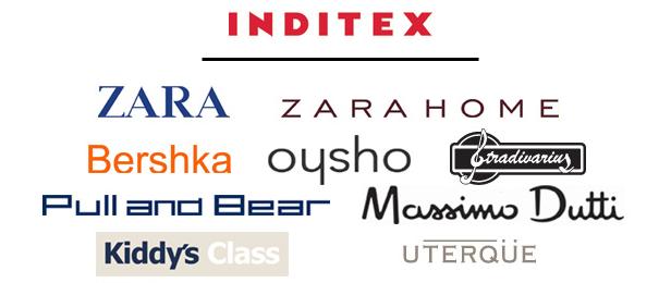 Inditex cuenta con 8 tiendas