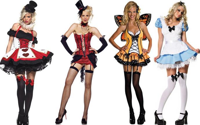 disfraces hot para Halloween