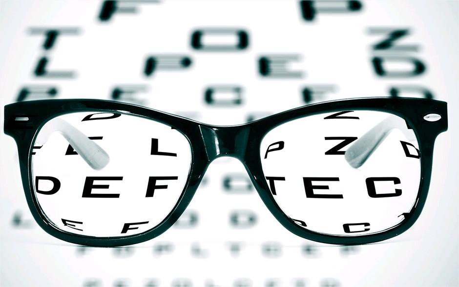 Las gafas para leer te ayudarán a enfocar las imágenes cercanas