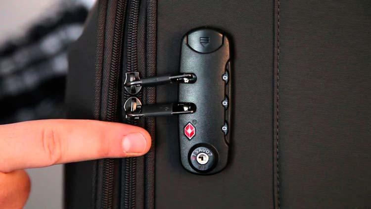 maletas con candado para mayor seguridad