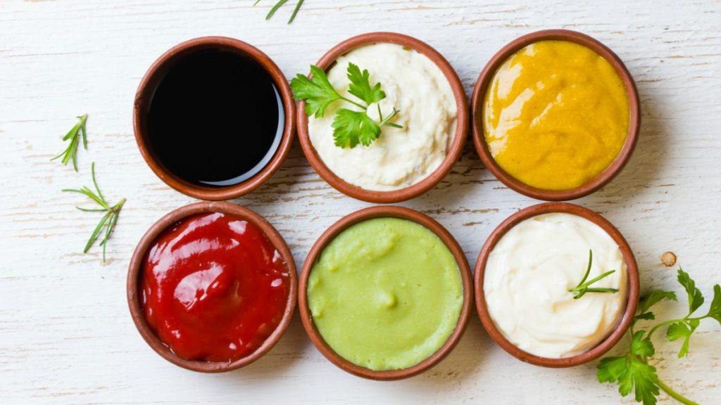 salsas diferentes y muy ligeras para cocinar