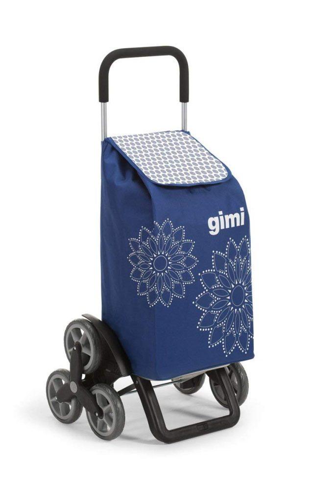 El carro de la compra Gimi Tris Floral, viene presentado en en varios colores y estampado de flores