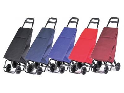 carros de la compra de diferentes colores
