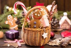 los mejores alimentos que se pueden poner en una cesta de navidad
