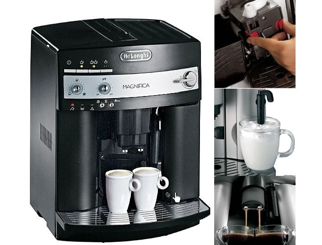 máquina de cafa DeLonghi ESAM 3000 B